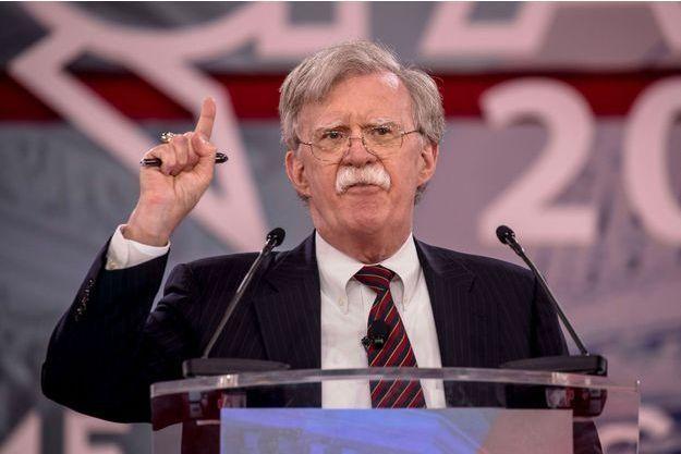 USA John-Bolton-conseiller-de-Trump-et-adepte-de-la-guerre-preventive