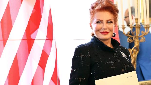 USA L'ambassadrice des États-Unis en Pologne, Georgette Mosbacher image