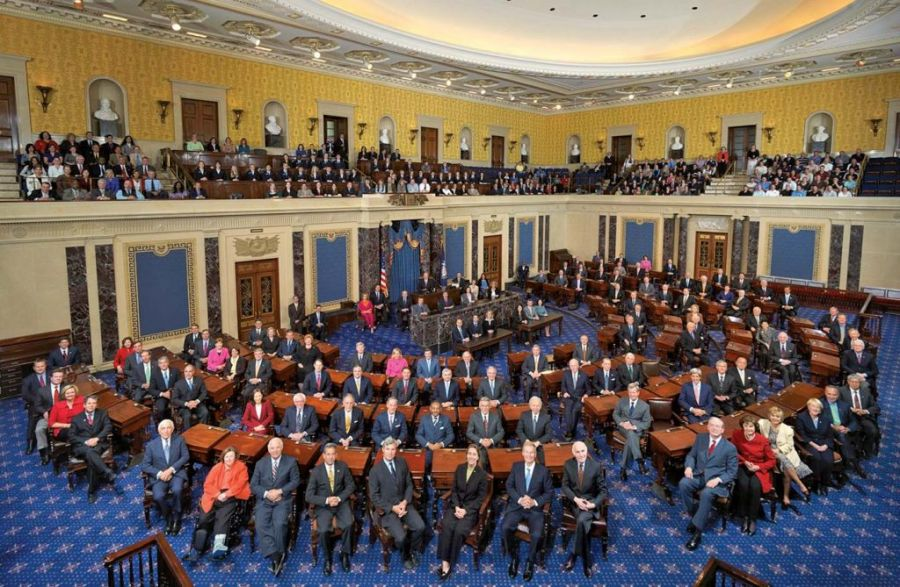 usa senat américain 111th_US_Senate_class_photo