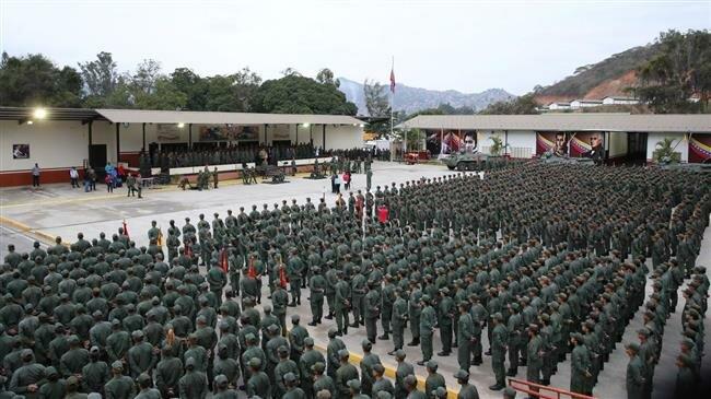 VENEZUELA L'armée vénézuélienne lors d'une parade militaire.(Archives) 2fcdf9e7-4490-4100-a790-ed53919da708
