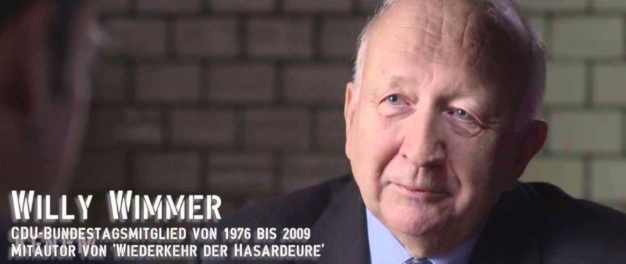 ALLEMAGNE Willy Wimmer, ancien secrétaire d'Etat au Ministère fédéral allemand de la Défense ...359b397903dfd62e9c8a5f3370e06423