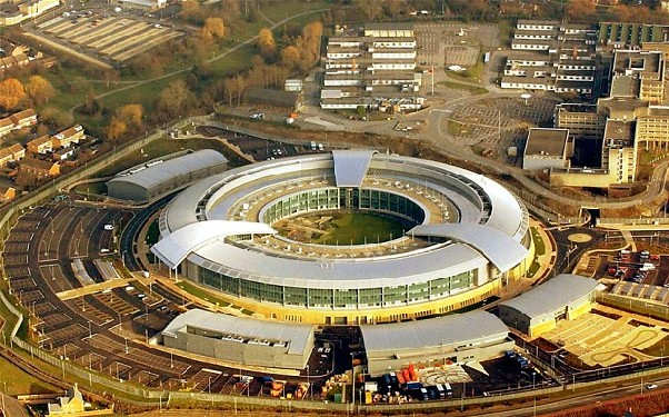 ANGLETERRE Siège du Global Communications Headquarters (GCHQ), les grandes oreilles de la Reine d'Angleterre. gchq_2597230b-063db