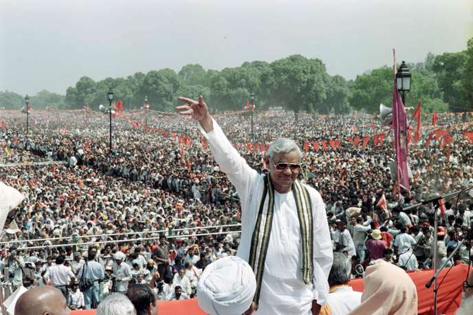 INDIA-POLITICS-VAJPAYEE