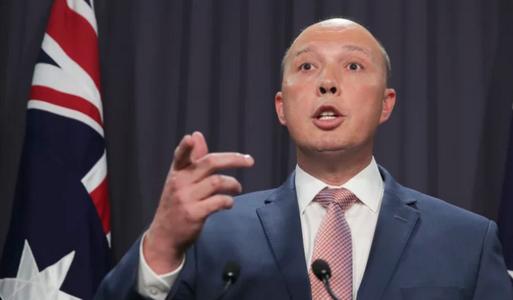 australie Ministre de l'intérieur Peter DuttonDuton