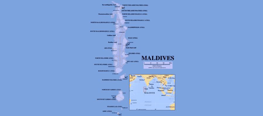 Carte-des-Maldives