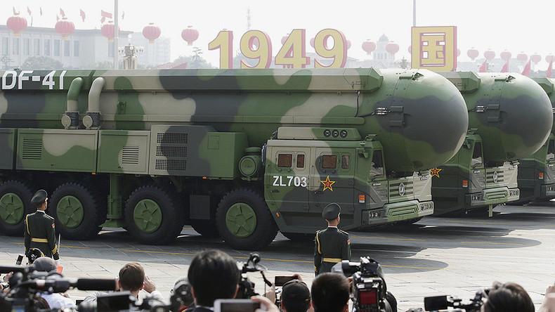 chine Le DF-41 est l'un des missiles intercontinentaux 5d9356ee87f3ec1146439fdc