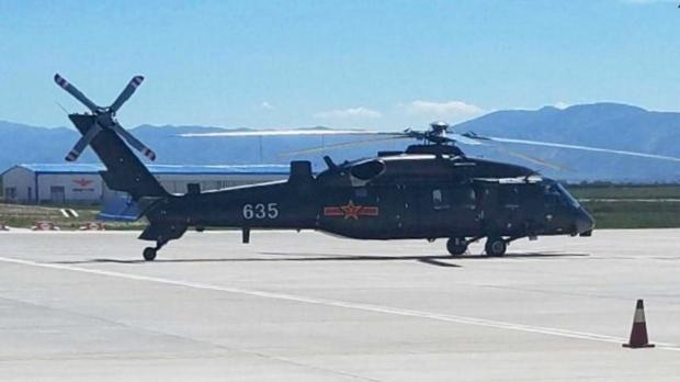 chine Le Harbin Z-20 est un hélicoptère polyvalent1841978860.2