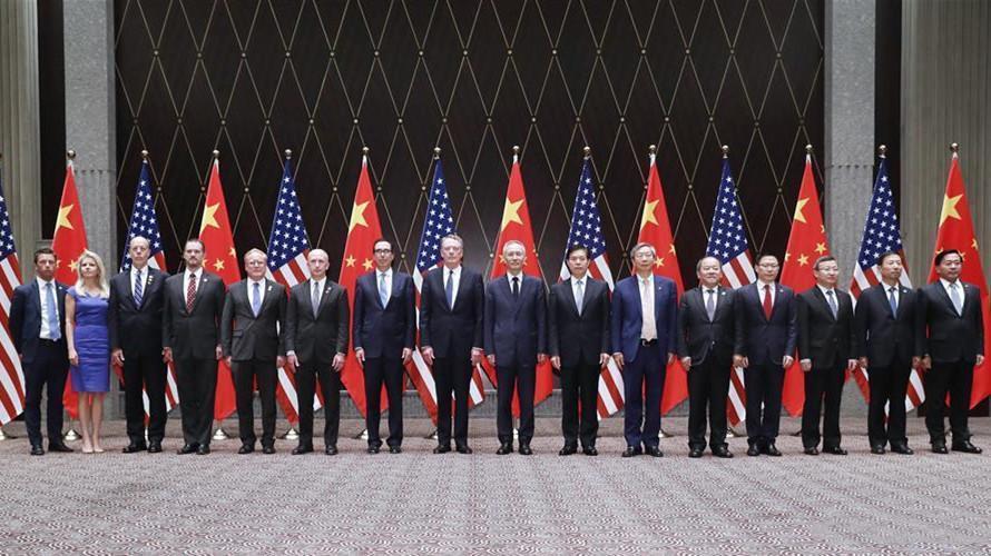 consultations économiques et commerciales sino-américaines de haut niveau à Washington.BDHJAEA