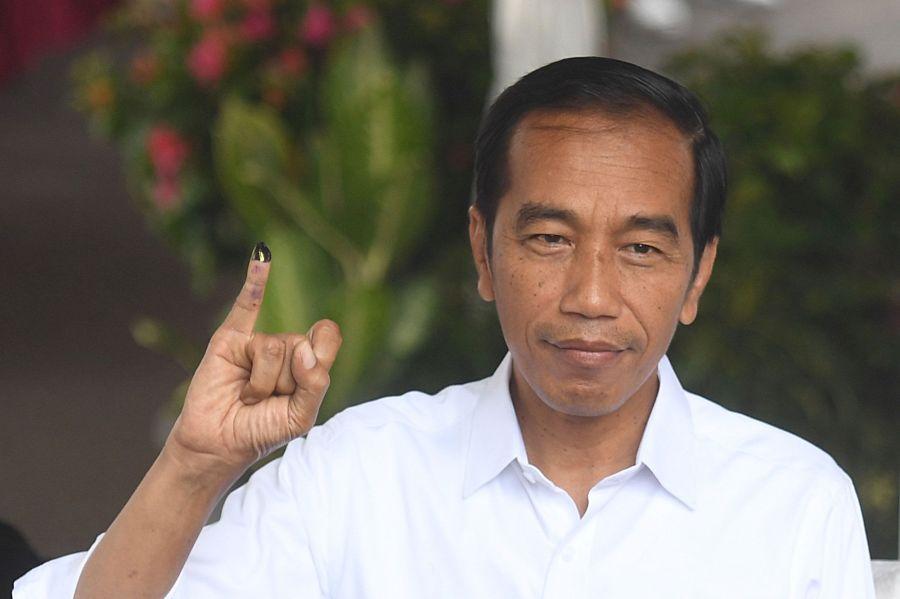 INDONESIE Joko-Widodo-un-musulman-modere-elu-pour-un-second-mandat-en-Indonesie