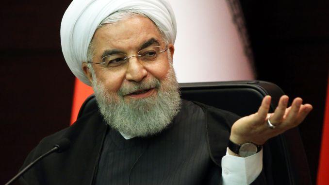 IRAN le Président iranien Rouhani 106146770-1569354460052iran