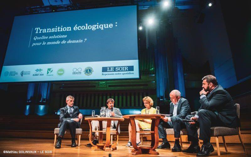Jacques Crahay faisait, ce 19 juin, partie du panel de la conférence-débat organisée par Le Soir sur le thème de la transition écologique. DebatGransSoirs_190619-800x500_c