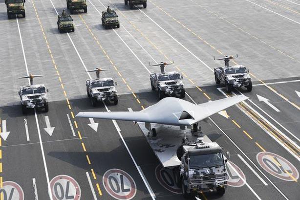 Le drone armé « LI Jian 利 剑 – sabre tranchant » lors du défilé du 1er octobre editorial_102019_02