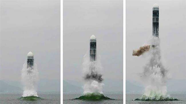 Le tir du SLBM Pukkuksong-3 achève la création de la deuxième composante de la dissuasion nucléaire nord-CoréenneLAFIVAb29cc827-8f59-4255-919a-685118ed5963