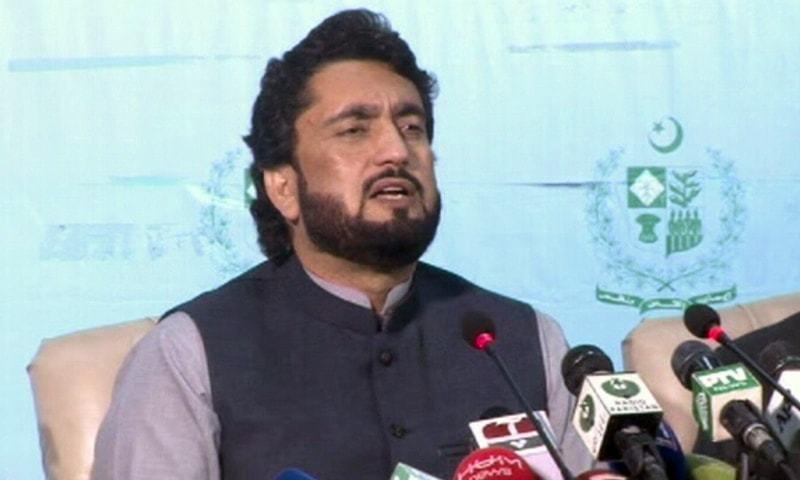 Shehryar Khan Afridi, ministre d'Etat au ministère de l'intérieur du Pakistan, 5c06778851924