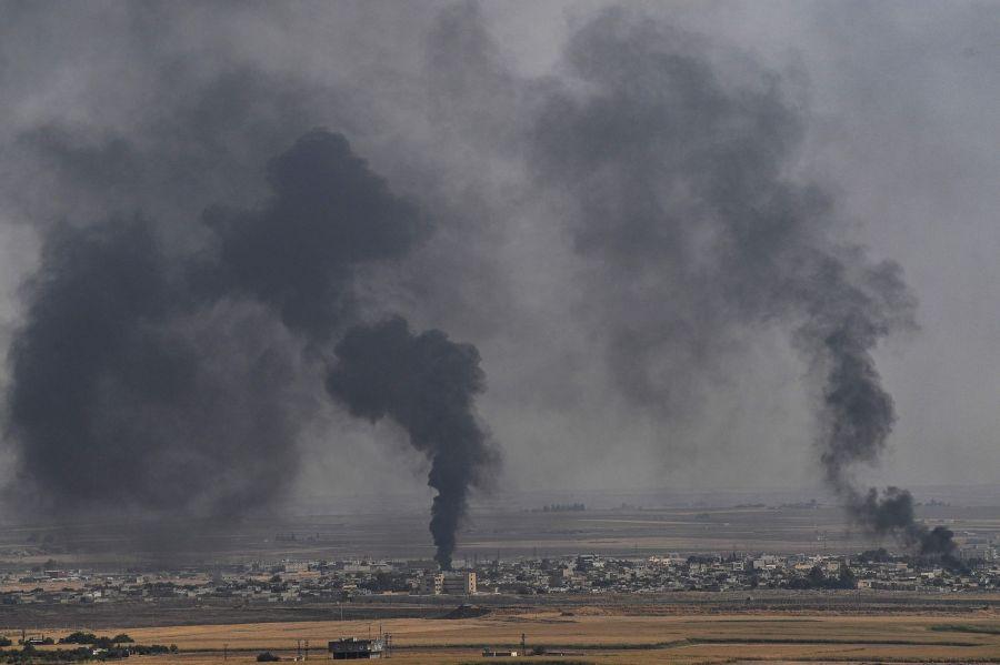 TOPSHOT-TURKEY-SYRIA-CONFLICT-KURDS