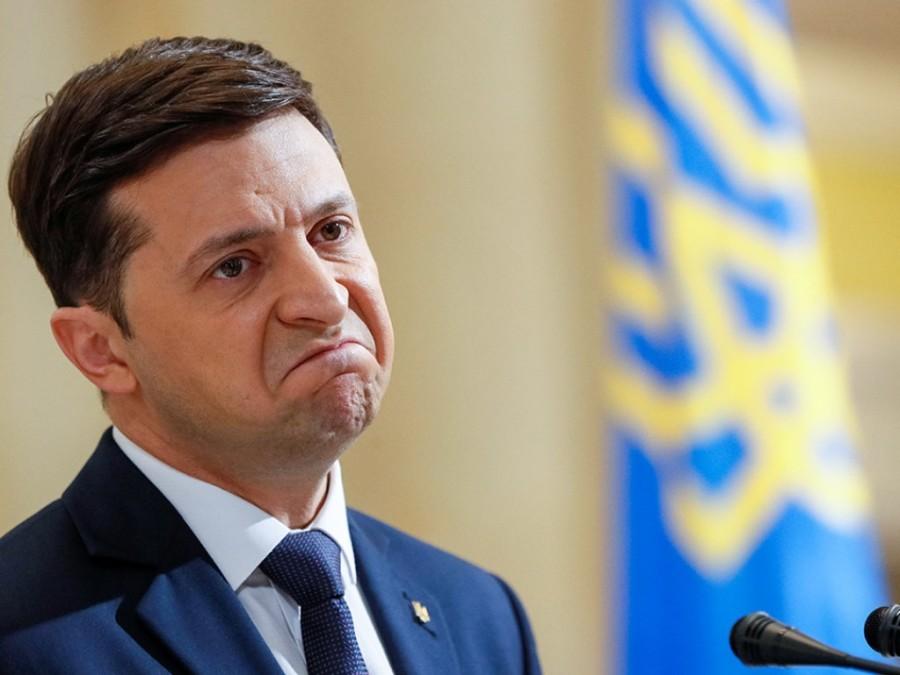 UKRAINE le Président ukrainien Vladimir Zelenski 294-1