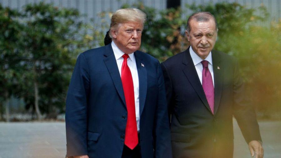 usa turquie donald-trump-et-recep-tayyip-erdogan-en-juillet-2018-au-siege-de-l-otan_6222150