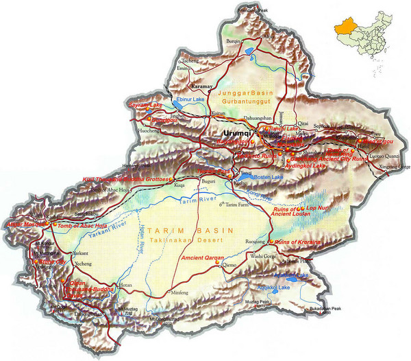 Xinjiang-Region-of-China-Tourist-Map.mediumthumb