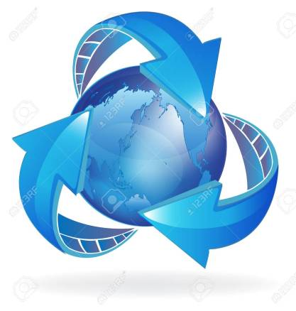 54060760-arrows-and-world-icon-concept-of-business-through-world-blue-design-image