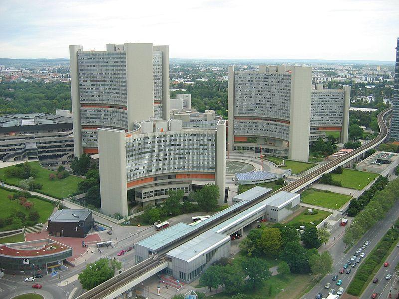 AIEA NUCLEAIRE 800px-Vienna_International_Centre