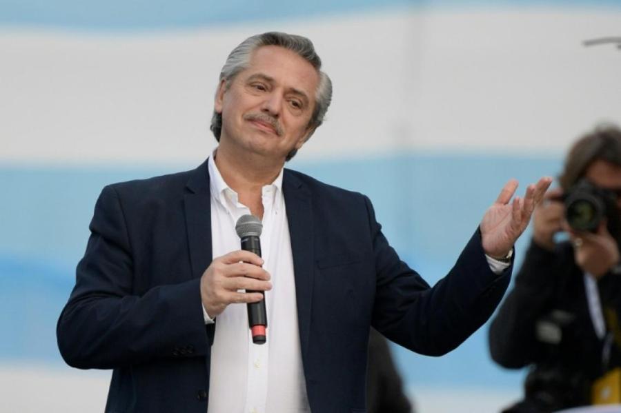 Alberto Fernández, le candidat du Parti péroniste 5b648481578461a08764cb90b62407e7d082dbb6