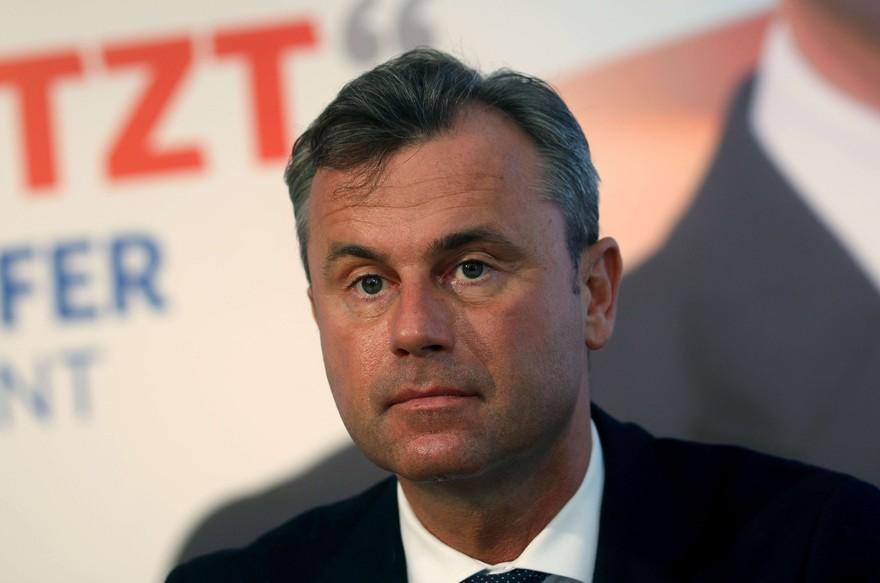 autriche Norbert Hofer 7782981576_norbert-hofer-membre-du-parti-de-la-liberte-d-autriche-fp