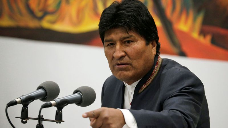 Bolivie, Evo Morales devrait décrocher un quatrième mandat interview de Laetitia Perrier-Bruslé Le 12h30 le 24 octobre 201910811107.image