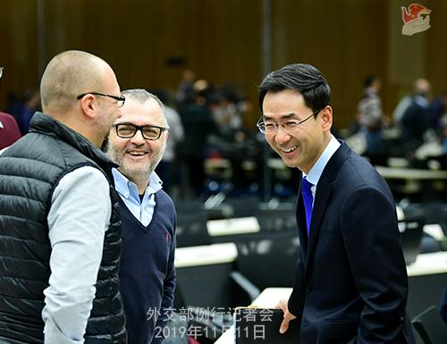 CHINE 3 Conférence de presse du 11 novembre 2019 W020191114377447873360