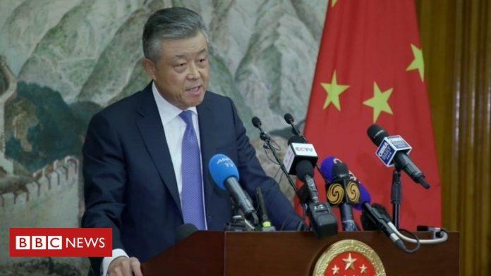 CHINE ANGLETERRE L'ambassadeur Liu Xiaoming_109887204_p07w0dbx-696x392