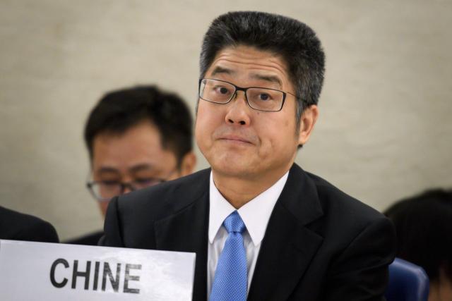 CHINE Vice-Ministre des Affaires étrangères de la Chine, Le Yucheng