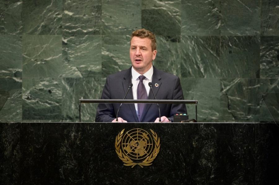 ISLANDE Ministre des Affaires étrangères de l'Islande, Gudlaugur Thór Thórdarson 780847