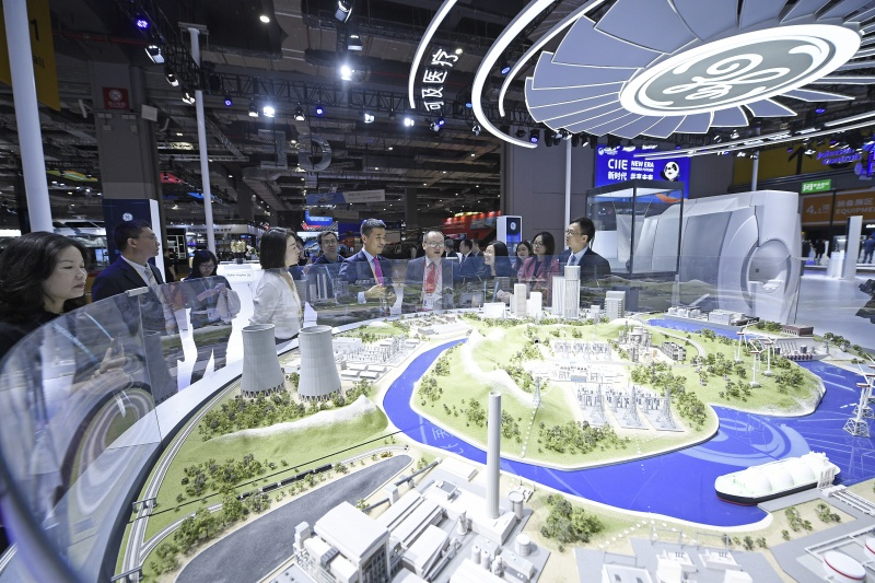 La deuxième édition de l'Exposition internationale d'importation de la Chine (CIIE)XxjwsfF007014_20191106_CBPFN0A001