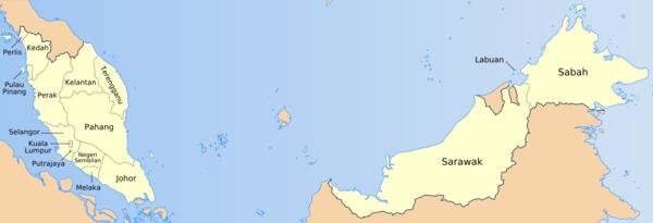 MALAISIE 600px-Malaysia_states_named