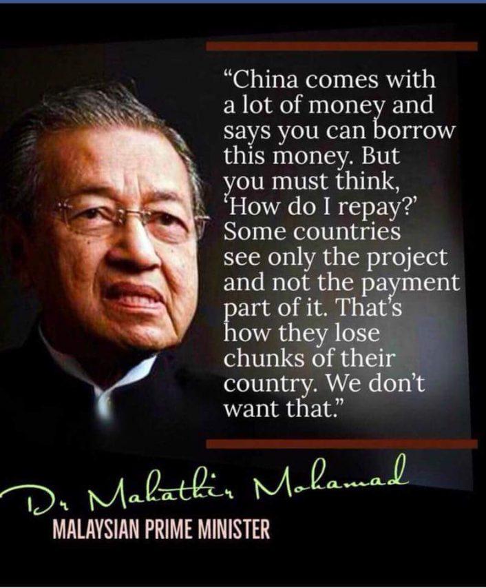 MALAISIE Declaration-Chine-Mahathir-Mohamad-1-706x853