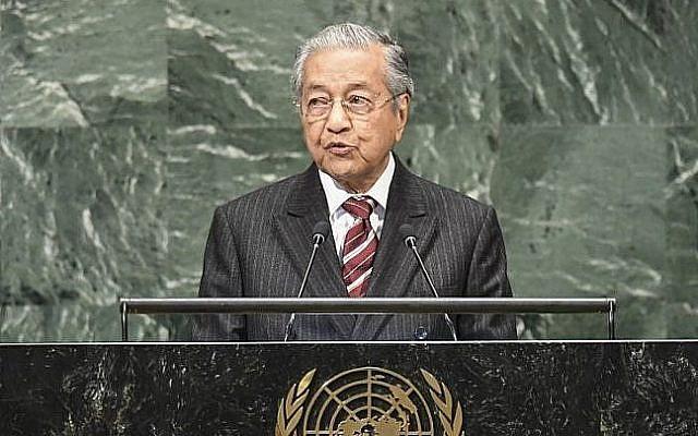 MALAISIE Docteur Mahathir 000_19K3YA-e1538297976583-640x400