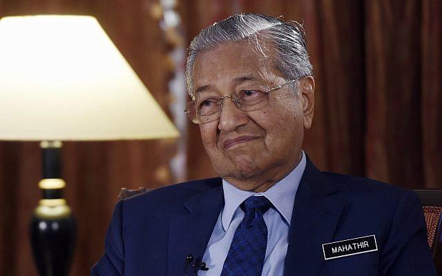 MALAISIE Le retour de Mahathir AP18225159119567-640x400
