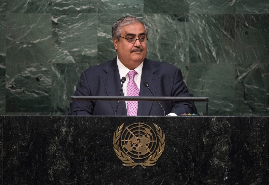 ROYAUME DU BAHREIN CHEICK KHALID BIN AHMED BIN MOHAMED AL KHALIFA, Ministre des affaires étrangères du Royaume de Bahreïn, 647747