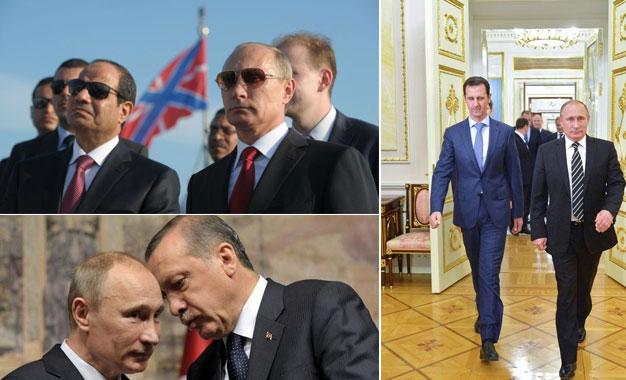 Russie au Moyen-Orient Poutine-Moyen-Orient