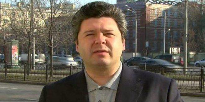 RUSSIE GrigorievWashington, SANA, directeur de la Fondation russe pour l'étude de la démocratie, Maxim Grigoriev