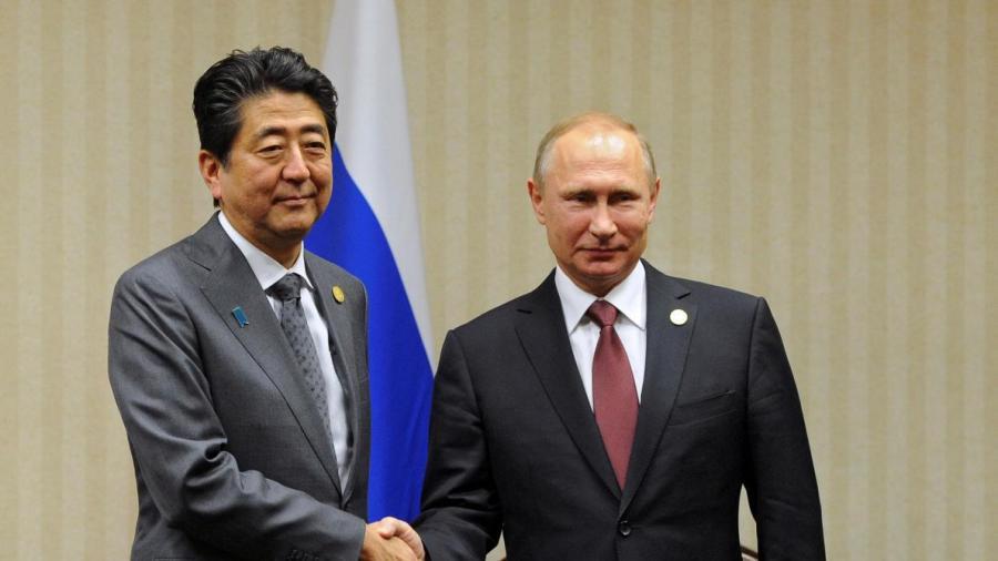 russie japon M. Poutine a également accueilli le Premier ministre japonais Shinzo Abe B9710466108Z.1_20161209111502_000+GL184TG3C.1-0