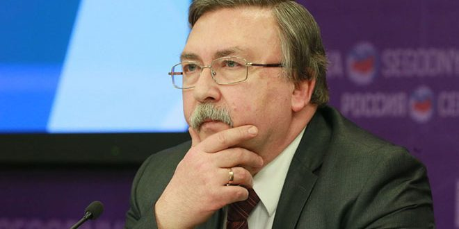 russie Mikhaïl Oulianov, chef de la délégation russe et Représentant permanent de la Russie auprès des organisations internationales à Vienne 1-63