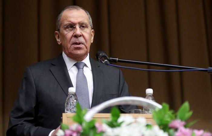 RUSSIE Sergueï Lavrov à Erevan.12137-1573458193