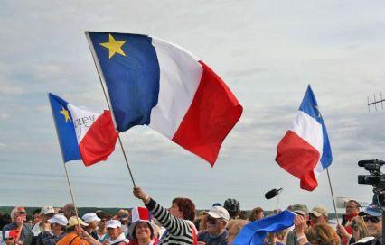 u peuple acadien et de son drapeau,image