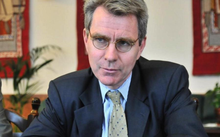 USA Geoffrey Pyatt, Ambassadeur des États-Unis en Grèce,usambassador