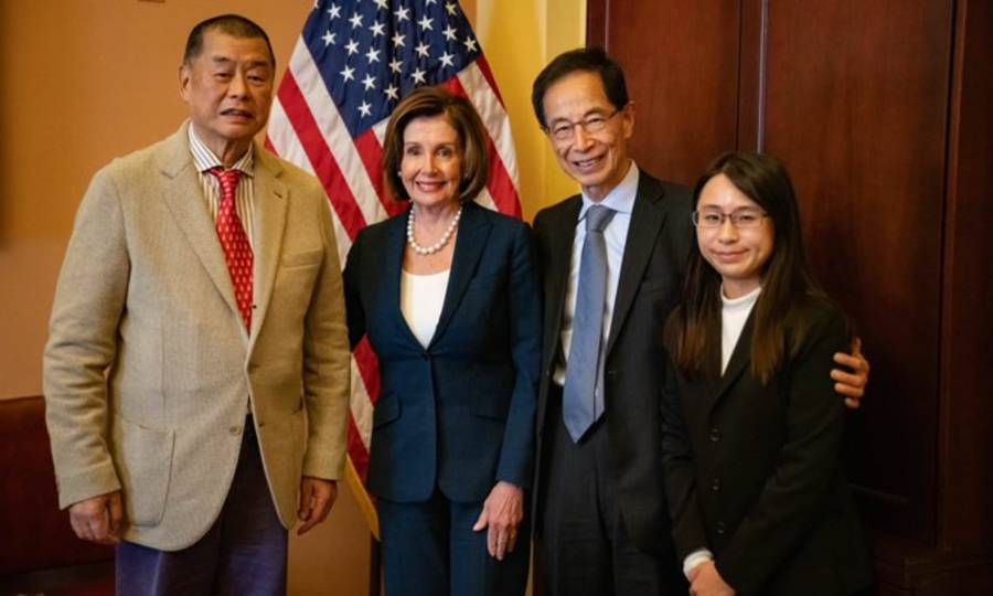 USA PELOSI Jimmy Lai et Martin Lee 20136962-0-image-a-100_1571933124360