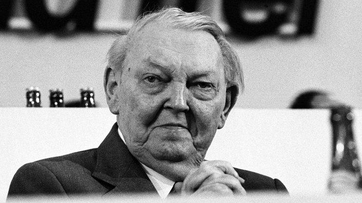ALLEMAGNE le chancelier Ludwig Erhard (CDU) dmark-erhard-100~_v-gseapremiumxl