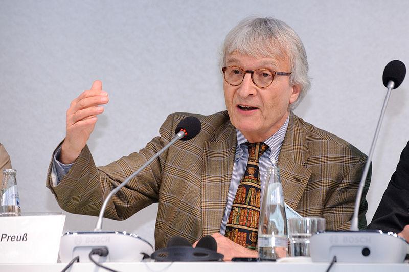 ALLEMAGNE Le constitutionnaliste Ulrich Preuss 800px-Ulrich_K._Preuß