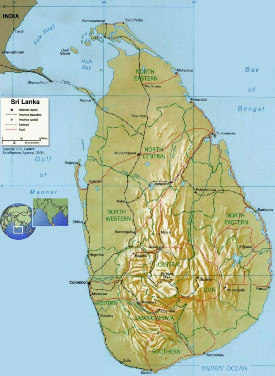 carte-relief-sri-lanka