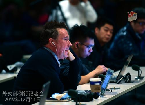 CHINE 15 Conférence de presse du 11 décembre 2019 W020191216361311236817