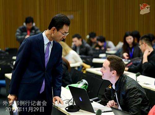 CHINE 2 Conférence de presse du 29 novembre 2019 W020191204510929620421